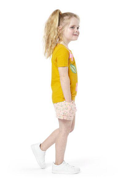 children's T-shirt yellow yellow - 1000019019 - hema