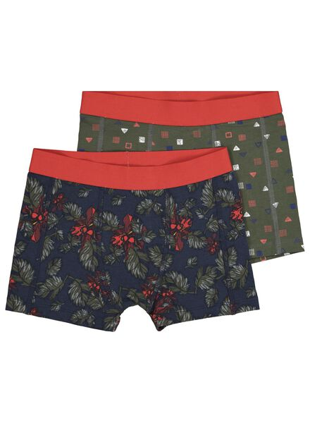 2-pack children's boxers dark blue dark blue - 1000016996 - hema