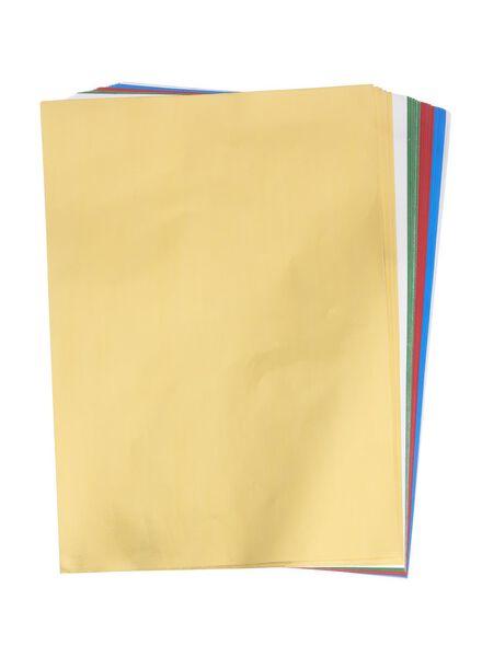 papier métallisé A4 - 15910191 - HEMA