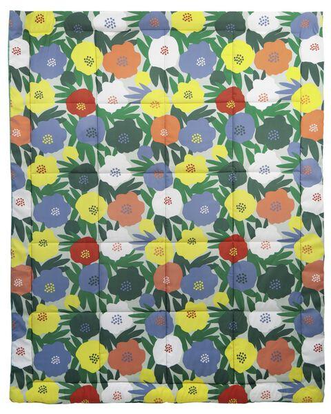 vacation blanket 180x140 flowers - 41820354 - hema