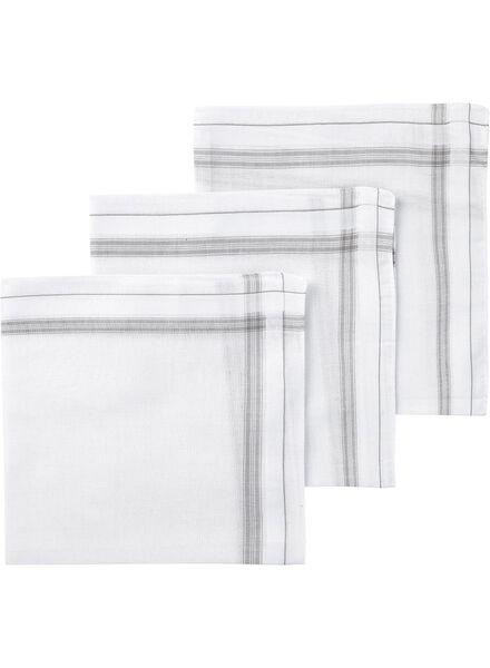 3-pack men's handkerchiefs - 1400002 - hema