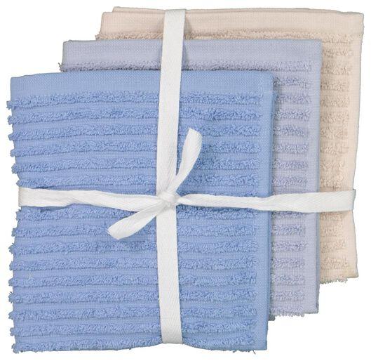 3 dishcloths 30x30 - 5400064 - hema