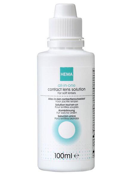 produit lentilles tout-en-un - lentilles souples - 100 ml - 11973052 - HEMA