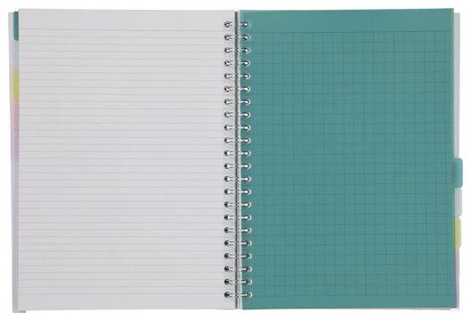 cahier à spirale 10-en-1 - A4 - 14130014 - HEMA