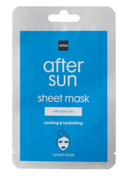 after-sun sheet masker - 11610154 - hema