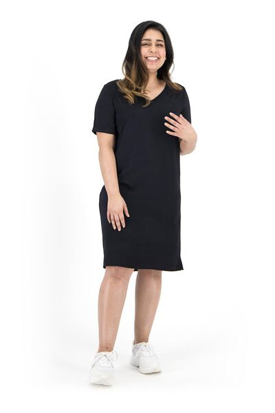 women's dress black black - 1000019241 - hema