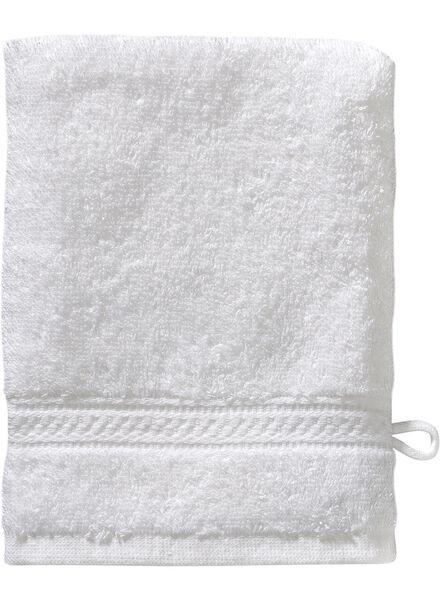gant de toilette de qualité supérieure 16 x 21 - blanc blanc gant de toilette - 5232600 - HEMA