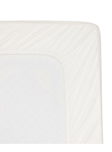 drap-housse - hôtel coton satin - 180x200 cm - blanc - 5140047 - HEMA