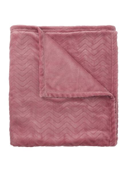 fleece throw 130 x 150 cm - 7382049 - hema