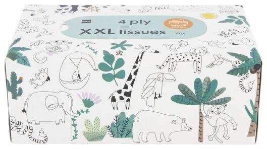 mouchoirs en papier 4 couches XXL - 11510103 - HEMA