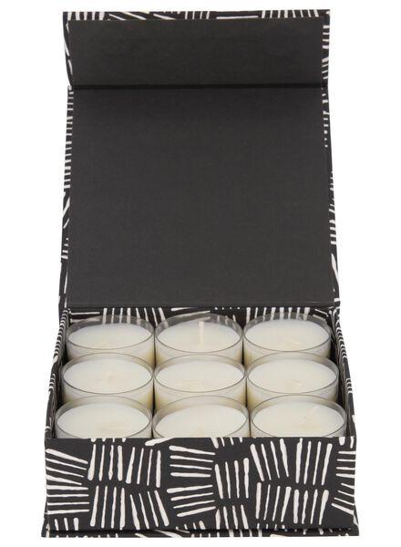 18 scented tea lights Ø 3.5 cm cedar/Bergamot - 13501988 - hema