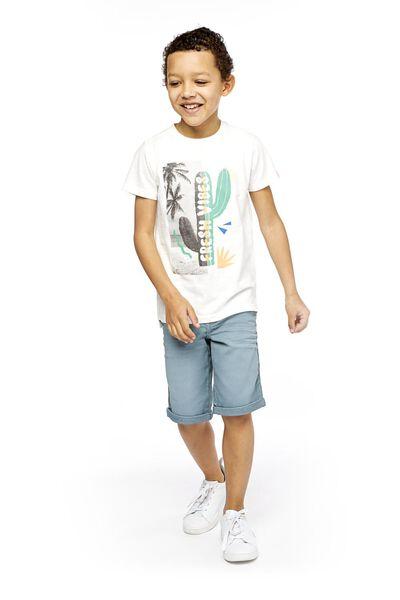 children's T-shirt off-white off-white - 1000018910 - hema