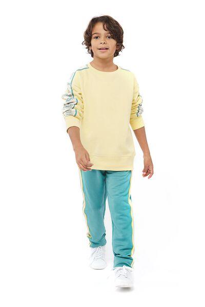 Kinder-Sweathose meergrün meergrün - 1000017690 - HEMA