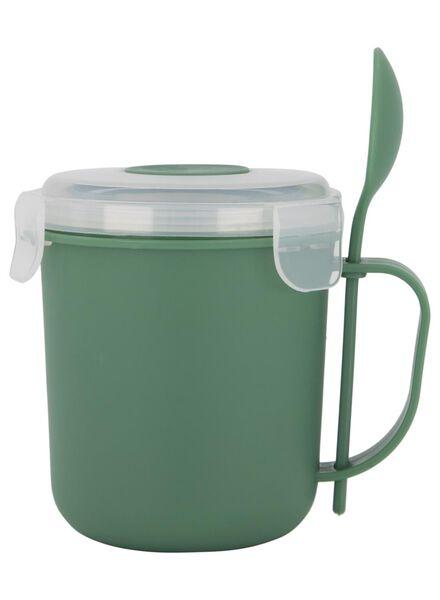 mug à potage 400ml vert - 80630569 - HEMA