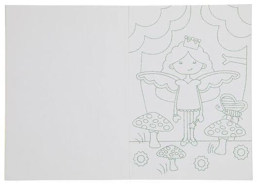 album à colorier paillette A4 - 15910149 - HEMA