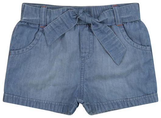 Babyhosen - HEMA Baby Shorts Jeansfarben - Onlineshop HEMA
