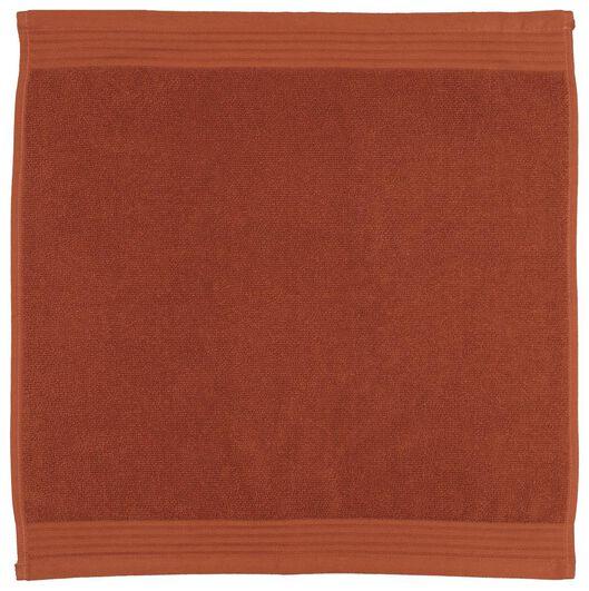 kitchen towel 52x52 cotton terracotta - 5410086 - hema