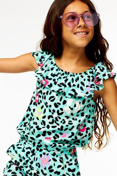 Kinder-Jumpsuit grün grün - 1000023652 - HEMA