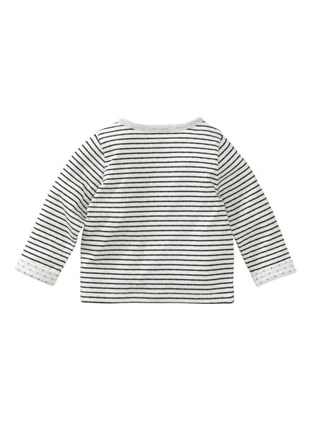 newborn cardigan black/white black/white - 1000005642 - hema