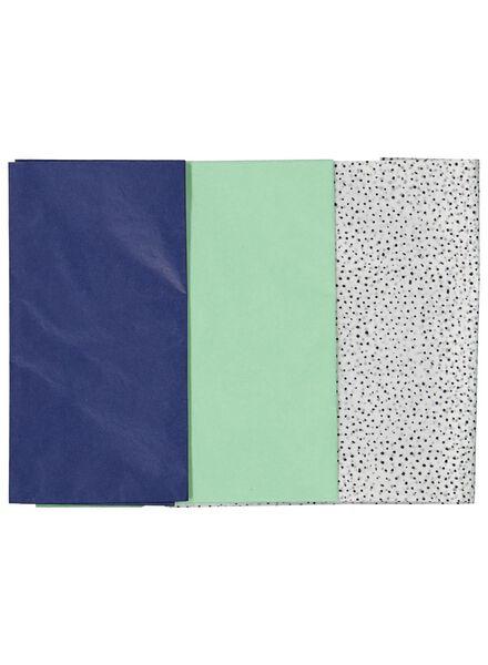 3 feuilles de papier de soie 70x50 - 14700202 - HEMA