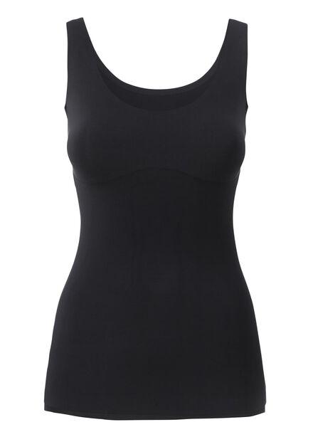 débardeur femme sans coutures noir noir - 1000002420 - HEMA
