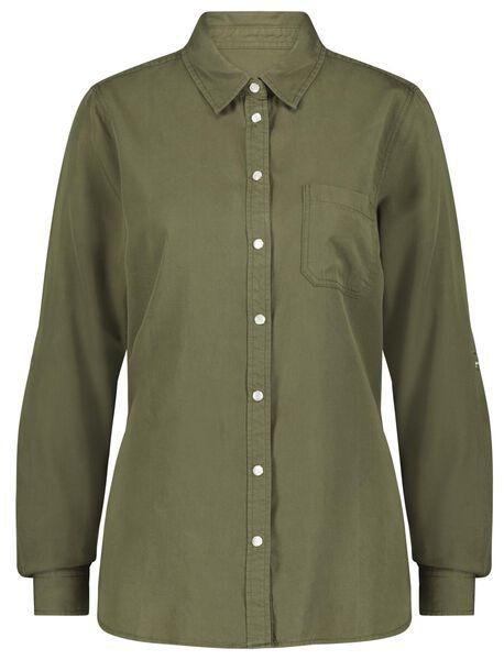 women's blouse light green light green - 1000023081 - hema