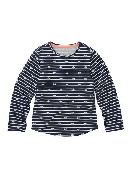 pyjama enfant bleu foncé bleu foncé - 1000011149 - HEMA