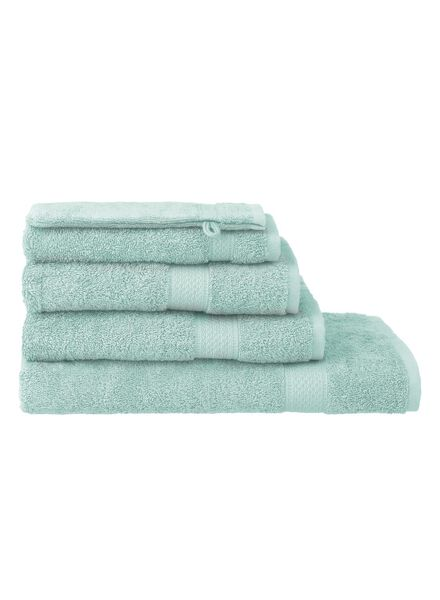 guest towel - 30 x 55 cm  - heavy quality - mint green plain mint green guest towel - 5240001 - hema