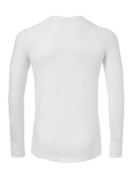 men's thermal T-shirt white white - 1000000963 - hema