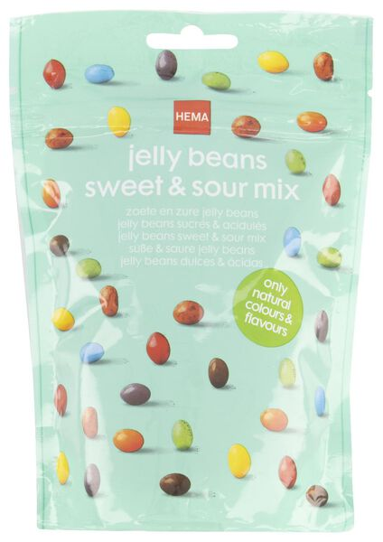 sweet and sour jelly beans - 200 grams - 10200011 - hema