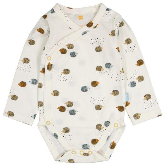 Baby-Wickelbody, Igel eierschalenfarben 56 - 33422712 - HEMA