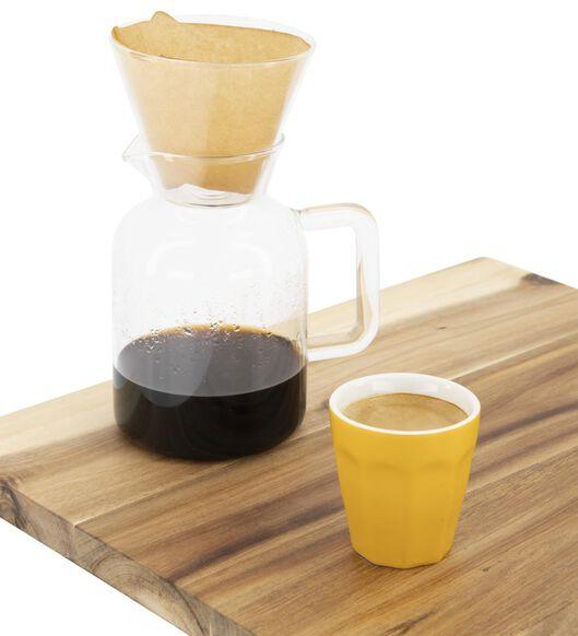 cafetière avec filtre Koffiebinkie verre 600ml - 80610079 - HEMA