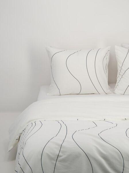 housse de couette - coton doux blanc blanc - 1000018701 - HEMA