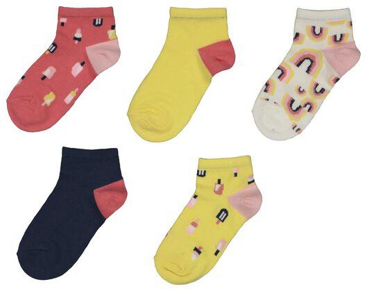 5er-Pack Kinder-Socken, Eis bunt bunt - 1000022717 - HEMA