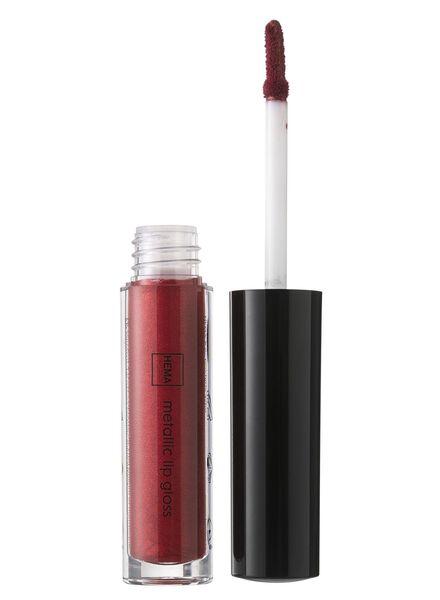 metallic lip gloss shimmering scarlet - 11231104 - hema