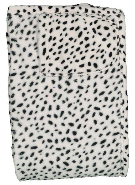 snuggle plaid - dalmatien - 60310040 - HEMA