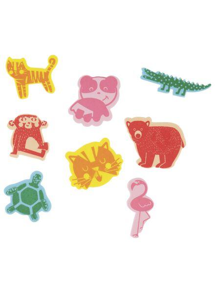 Moosgummiaufkleber Tiere - 15920027 - HEMA