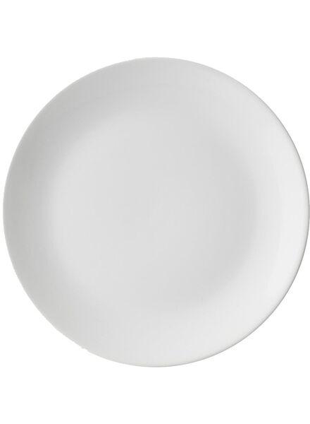 dinner plate 26 cm - Amsterdam - white - 9670000 - hema