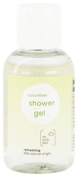 gel douche concombre 50 ml - 11311310 - HEMA