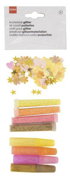 crafts bag glitter pink - 15900050 - hema