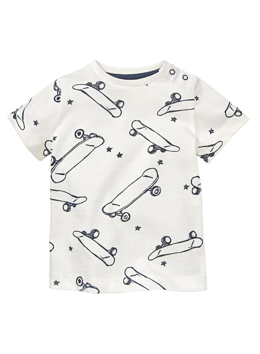 62ae7bab46a2e8 images baby T-shirt off-white off-white - 1000012991 - hema