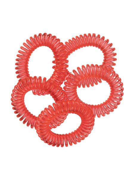 5er-Pack Spiral-Haargummis - 11870026 - HEMA