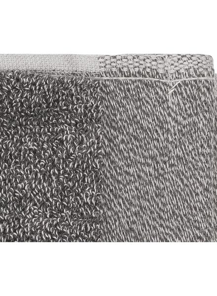 guest towel - 33 x 50 cm - bamboo - dark grey dark grey guest towel - 5200134 - hema