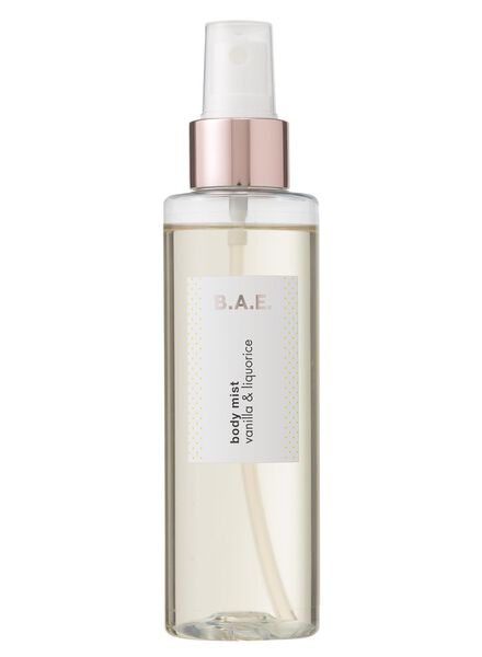 B.A.E. body mist vanilla and liquorice 150ml - 17730022 - HEMA