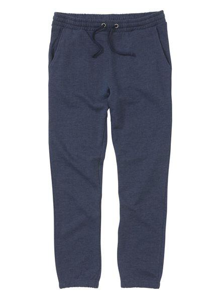 men's sweatpants dark blue dark blue - 1000006091 - hema