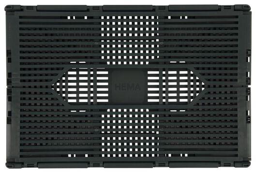 Buchstabentafel-Klappkiste, recycelt, 20 x 30 x 11.5 cm, dunkelgrün dunkelgrün 20 x 30 x 11,5 - 39821070 - HEMA