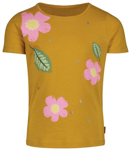 Kinder-T-Shirt gelb gelb - 1000019019 - HEMA
