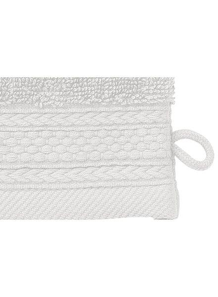 gant de toilette-hôtel extra épais-gris clair uni - 5240196 - HEMA