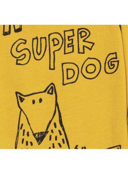 baby sweatpants yellow yellow - 1000015560 - hema