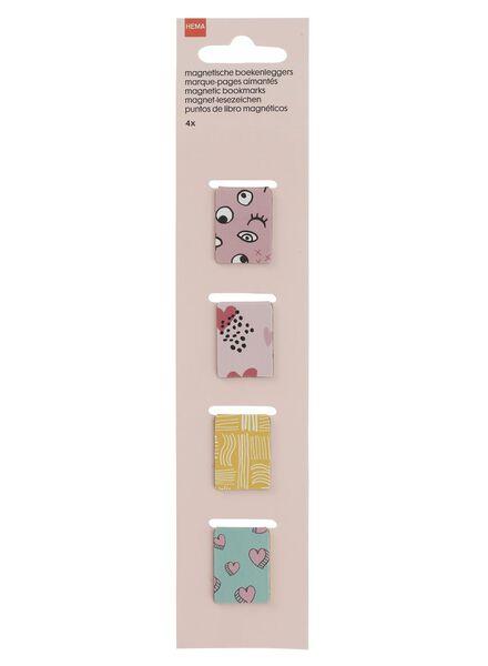 4er-Pack Magnetlesezeichen - 14420069 - HEMA